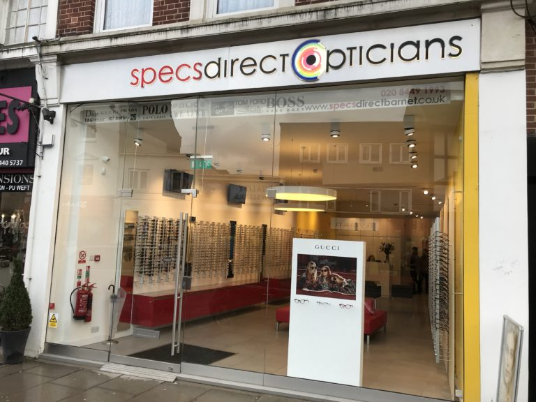 1159c6206de It has been exactly four years since Specs Direct moved to the new  location. The building used to be the old Mothercare store.
